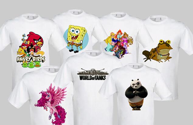 Где купить модную и красивую футболку с картинкой
