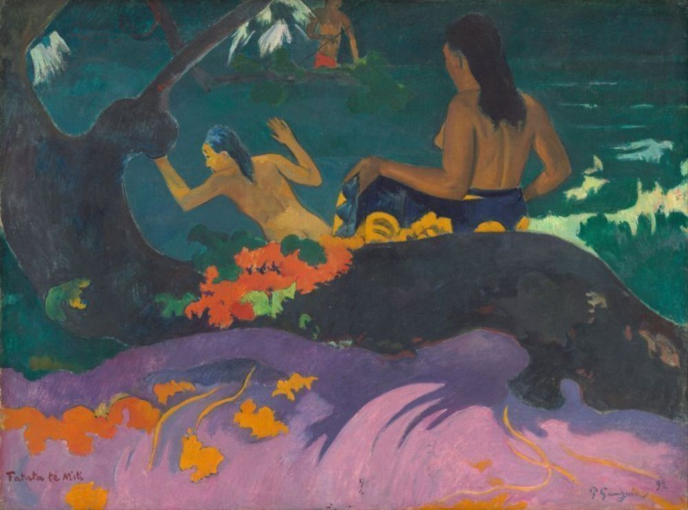 Paul Gauguin - Fatata te Miti (By the Sea).jpg